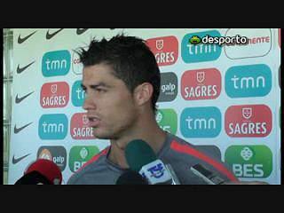 Cristiano Ronaldo quer mais do que um empate