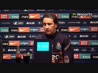 V. Pereira«O FC Porto sabe da importância do jogo»