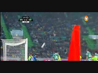Liga (33ª J): Resumo Sporting 5-0 V. Setúbal