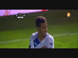 Liga (4ªJ): Resumo Feirense 2-1 Tondela