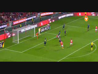 Benfica, Jogada, Gonçalo Guedes, 31m