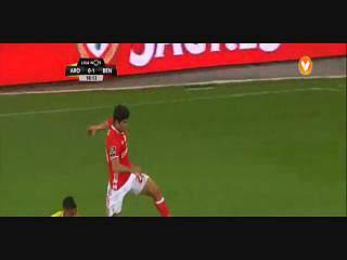 Benfica, Jogada, Rafa, 18m