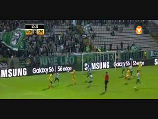 Sporting, Jogada, Carlos Mané, 66m