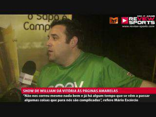 ONEY VS P.AMARELAS - Flash Interview Mário Silva