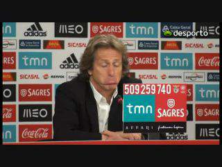 Jesus «O Sporting não perdeu por causa do árbitro»