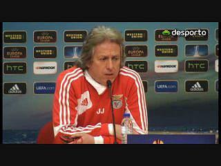 Jorge Jesus: «Leverkusen é difícil mas Paços é mais importante»