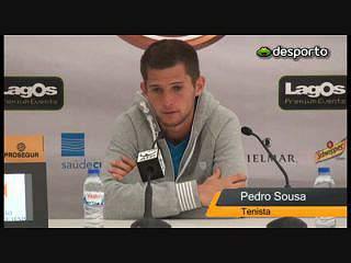 Pedro Sousa desiludido com a derrota