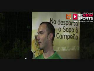EMPARK vs ONEY - Flash Interview  Jorge Valadas