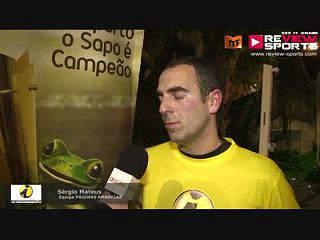 SAPO VS P.AMARELAS  - Flash Interview Sérgio Mateus