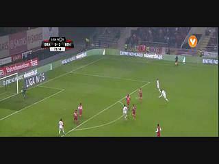 Benfica, Jogada, Jonas, 75m