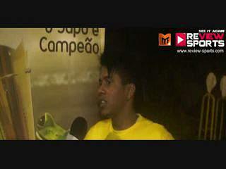 ONEY VS P.AMARELAS - Flash Interview William