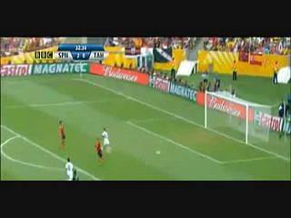 A goleada espanhola ao Taiti