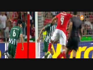 Benfica, Jogada, Lindelof, 89m