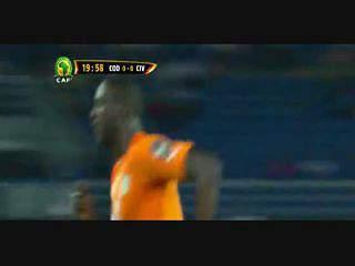 """Bomba"" de Yaya Touré no Costa do Marfim 3-0 RD Congo"