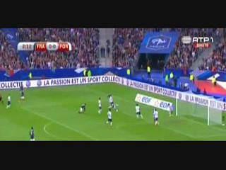 França, Golo, Benzema, 3m, 1-0
