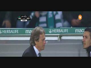 Sporting, Expulsão, Jorge Jesus, 42m