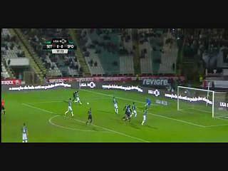 Sporting, Golo, Slimani, 18m, 0-1