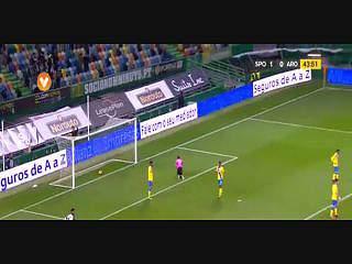 Sporting, Golo, Alan Ruiz, 44m, 1-0