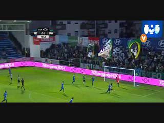 Sporting, Jogada, E. Schelotto, 20m