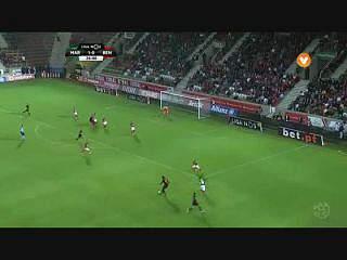 Benfica, Golo, Gonçalo Guedes, 27m, 1-1