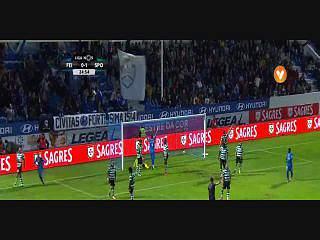 Feirense, Golo, Tiago Silva, 25m, 1-1