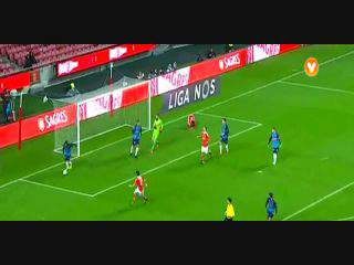 Benfica, Jogada, Jimenez, 12m