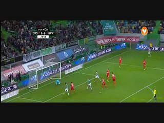 Sporting, Jogada, Barcos, 74m