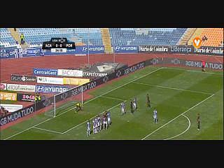 Académica, Golo, Pedro Nuno, 25m, 1-0