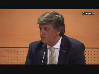 Laurentino Dias critica FPF
