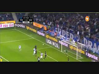 FC Porto, Jogada, Aboubakar, 28m