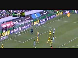 Sporting, Jogada, B. Ruiz, 29m