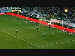 Sporting, Golo, Slimani, 45m, 3-0
