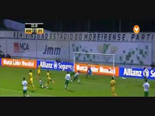 Resultado ao Intervalo – Moreirense 1-3 Sporting