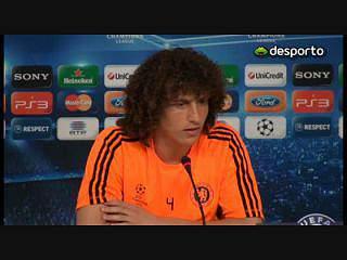 David Luiz: «Vai ser um jogo especial»