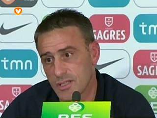 """Paulo Bento:""""Manter em primeiro lugar"""""""
