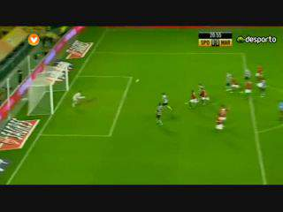 Liga (3ª J): Resumo Sporting 2-3 Marítimo