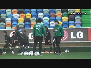Ribas já treina pelo Sporting