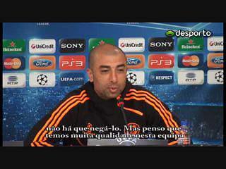 Di Matteo: «Queremos marcar e não sofrer»