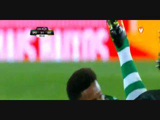 Sporting, Jogada, Jefferson, 87m