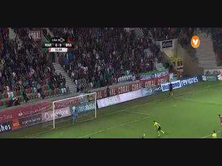 Sp. Braga, Golo, Pedro Santos, 16m, 0-1