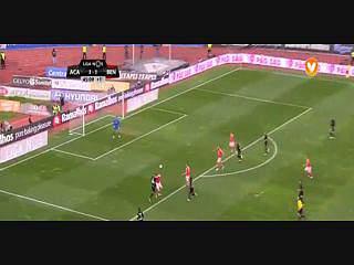 Benfica, Jogada, Jardel, 46m