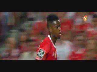 Benfica, Jogada, Nélson Semedo, 14m