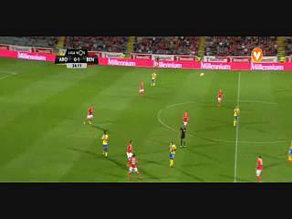 Benfica, Jogada, Rafa, 24m