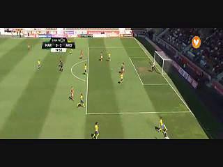 Liga (31ª J): Resumo Marítimo 1-2 Arouca
