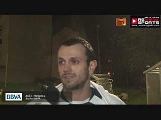 BBVA VS BDO - FLASH INTERVIEW JOÃO MENDES