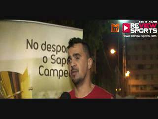 SAPO VS EMPARK - FLASH INTERVIEW MARCIO SILVA