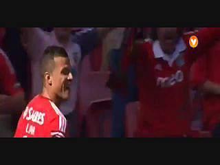 Benfica, Golo, Lima, 8m, 1-0