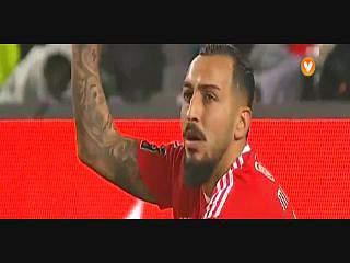 Benfica, Cartão Amarelo, Mitroglou, 82m