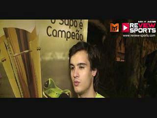 SAPO VS P.AMARELAS - Flash Interview Diogo Freitas