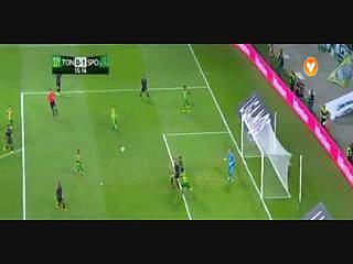 Liga (1ª J): Resumo Tondela 1-2 Sporting
